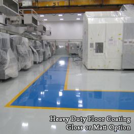 Heavy Duty Floor Coatings